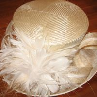 Windsor White & Cream Hat SN129
